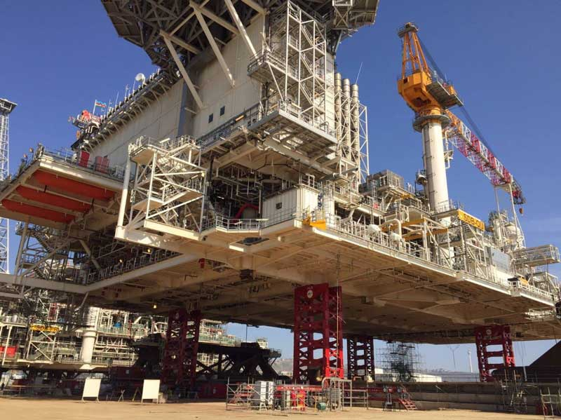 Offshore platform project in Azerbaijan